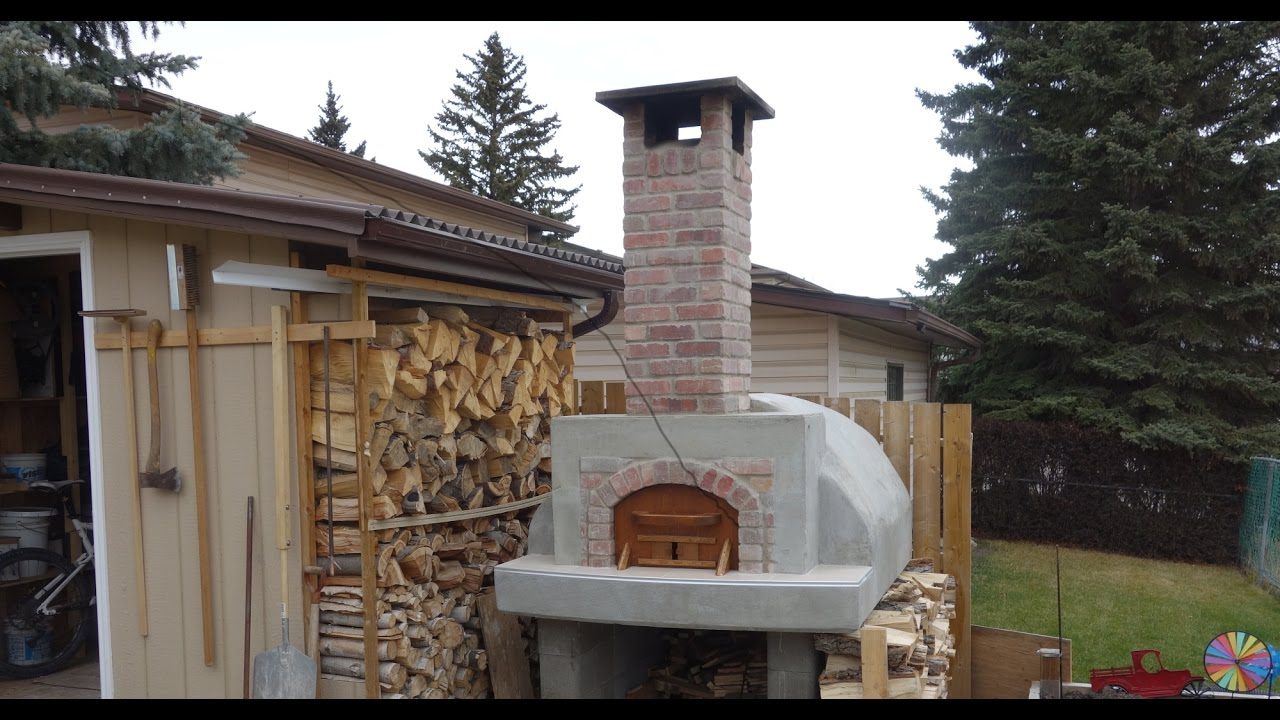 Video 4 4 Wood Fired Pizza Oven Chimney Cap Youtube