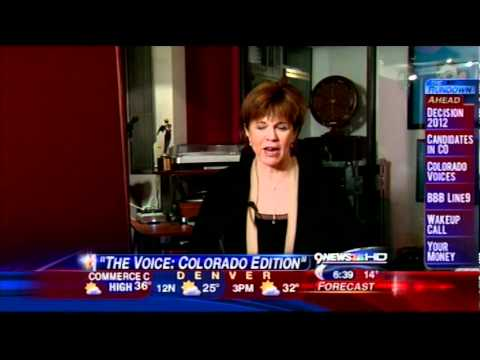 Maggie Roswell Rayle - Voice Interview 9News Denver - 2012