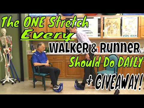 The ONE Stretch Every Walker & Runner Should Do Daily + GIVEAWAY!
