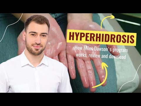 How to cure hyperhidrosis and stop excessive sweating in hands, armpits and body ☑️