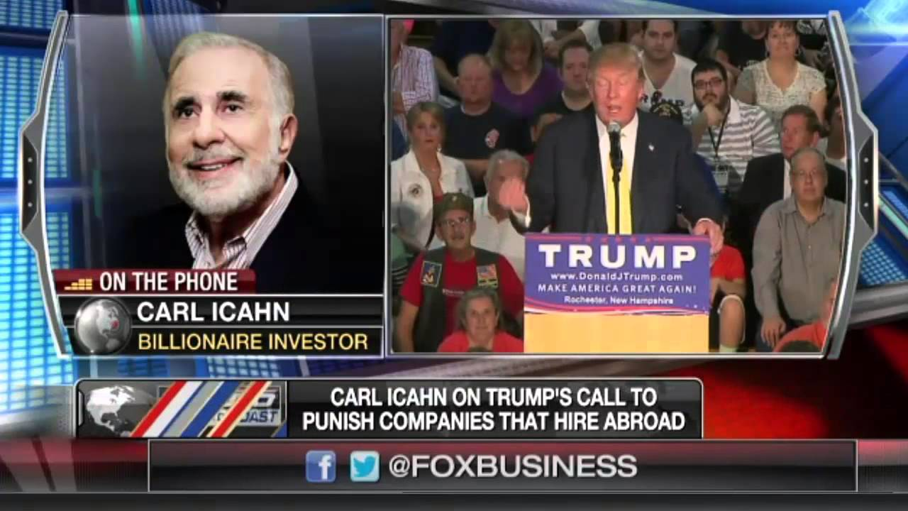 Carl Icahn isn't in the mood for Neil Cavuto's anti-Trump crap