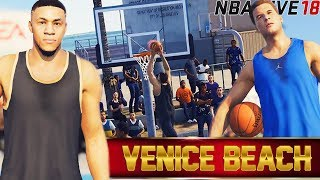 NBA Live 18 The One: Getting Mean Posters! Taking Over Venice Beach With Blake Griffin