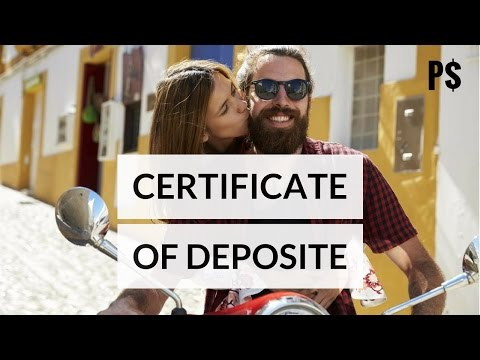 2 Warnings Before Investing Certificate of Deposit- Professo