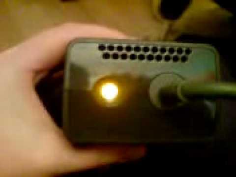 Xbox 360 Slim Power Supply Flashing Orange Light