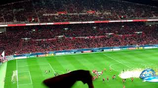 浦和レッズ〝ウィアダイ〝  (Urawa Red Diamonds  supporters are singing a victory song  after win ACL final 2017.)