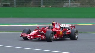 Ferrari F1 F2008 Crashed at Spa Francorchamps!