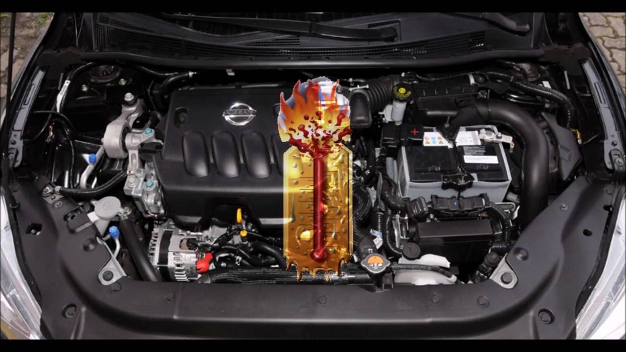 Problema de Sobreaquecimento do motor NISSAN SENTRA B17 ...