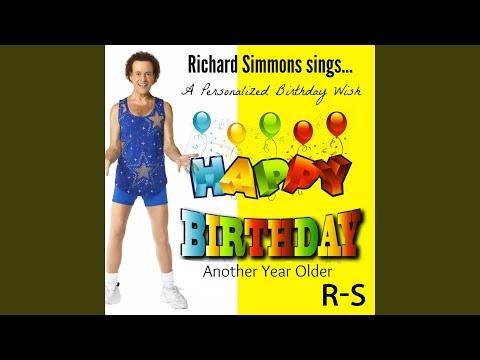 Happy Birthday Richard, Another Year Older