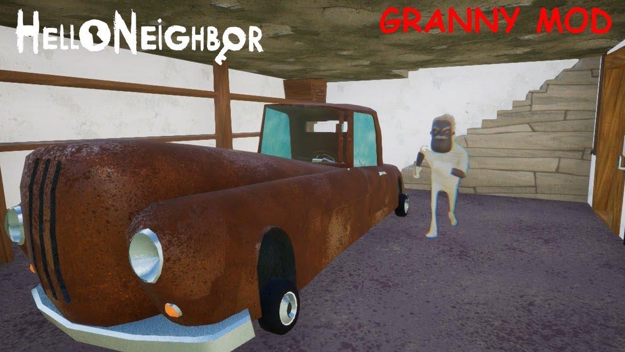 Hello Granny update 3 (Hello neighbor Mod)  #Smartphone #Android