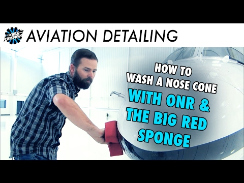 QUICK TIP! How To Clean A Private Jet Nose Cone With Optimum No Rinse