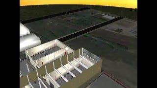 3D Model Future Home of Piquette Sudios Created By: Justin Cadarean