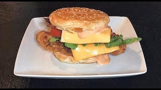 How To Make Chicken Burger