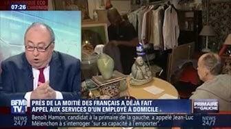 """Services à domicile : """" C'est l'employé qui demande un contrat à l'employeur"""", Jérôme Depaix"""