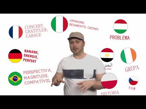 Cognates: Words you already know in foreign languages: #languagehacking quickies