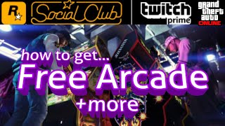 How to claim FREE Arcade in GTA 5 Online with Twitch Prime