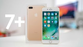 Unboxing iPhone 7 Plus Gold 32GB