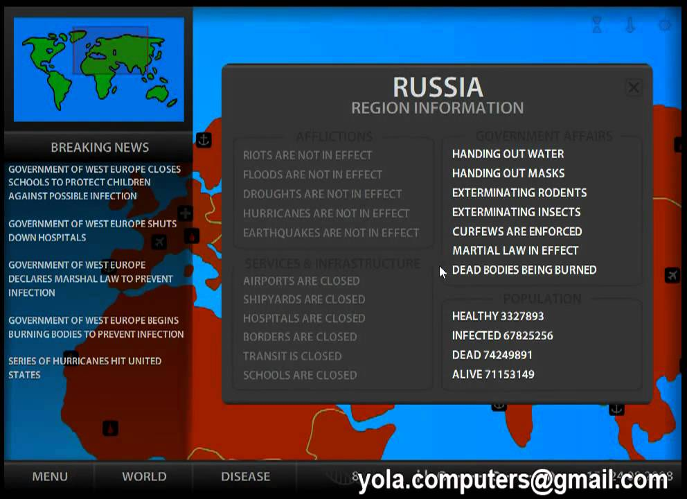 Pandemic 2 Hacked / Cheats - Hacked Online Games