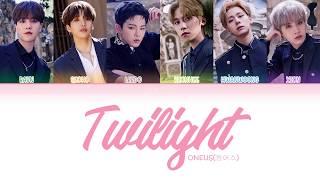 ONEUS (원어스) - Twilight (태양이 떨어진다)   [Lyrics Color Coded HAN/ROM/ENG]