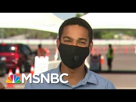 'Blind Spots' In AZ Testing Suggest Community Spread Since Reopening In Mid-May | MTP Daily | MSNBC
