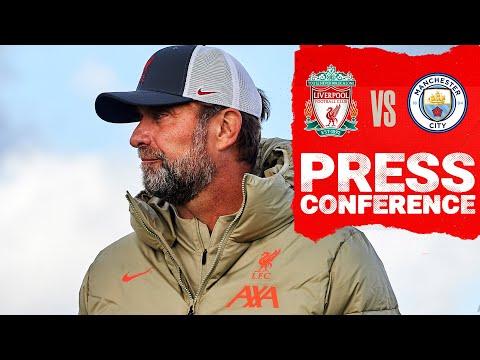 Jürgen Klopp's pre-match press conference |  Manchester city