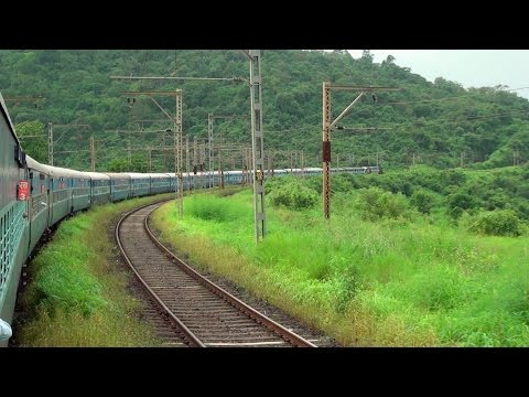 Monsoon Delight - Dadar To Lonavala Journey Onboard Mumbai Cst Bangalore Udyan Express