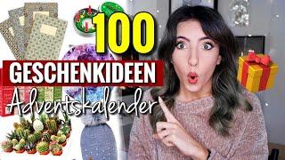 100 Adventskalender Geschenkideen für Weihnachten | DIY Adentskalender befüllen