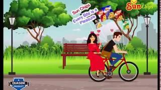 CG animation für SunChips