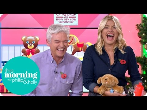 Holly Gets The Giggles When A Toy Dog Makes Some Unusual Noises | This Morning