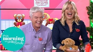 Holly Gets The Giggles When A Toy Dog Makes Some Unusual Noises   This Morning
