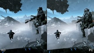 Titanfall: Xbox One vs. PC Comparison