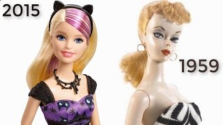 The Evolution Of BARBIE Doll From 1959 To 2015