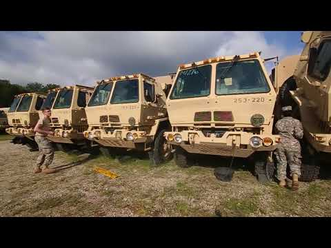 Hurricane Irma New Jersey National Guard gear for Florida aid