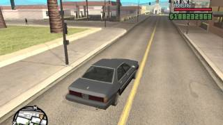 GTA San Andreas Sentinel