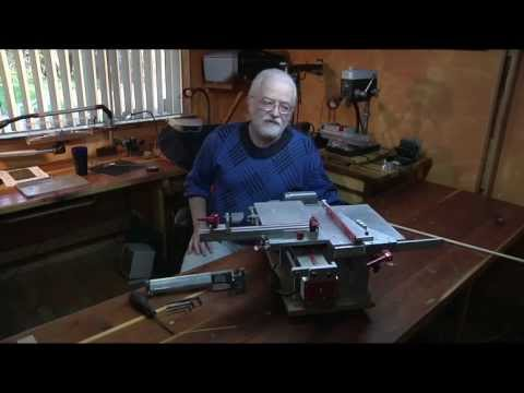 Most Accurate Small Table Saw in the World  Fred Brinks