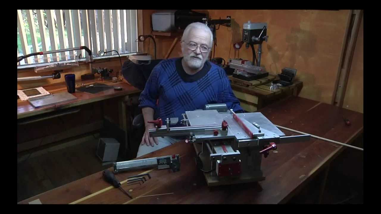 Most Accurate Small Table Saw In The World By Fred Brinks Youtube