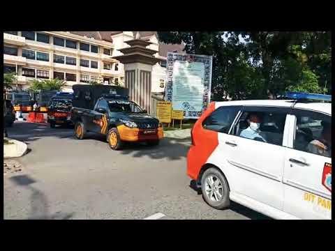 Pendisiplinan Prokes kepada masyarakat oleh Satgas Aman Nusa II Polda Jambi