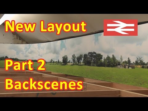 New Layout Build – Backscenes