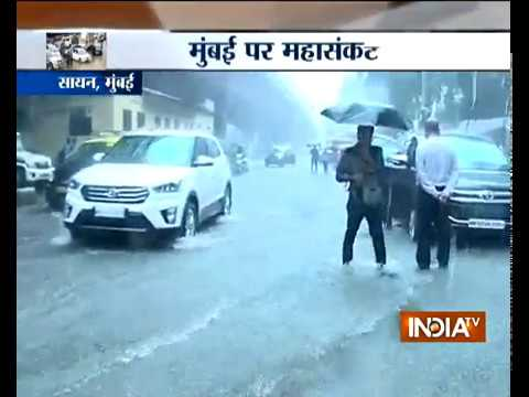 Extremely heavy rainfall lashes Maharashtra, normal life crippled