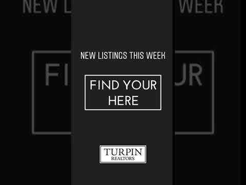 Find Your Here - New Listings This Week