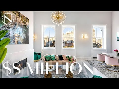 NYC Real Estate - Massive TriBeCa triplex loft apartment