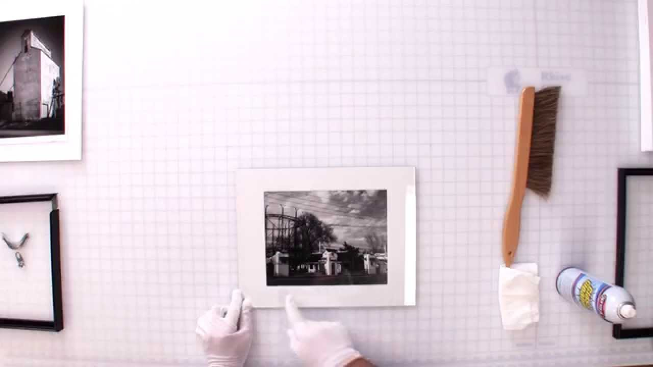 Conservation Framing - How to Mat & Frame a Print using Conservation ...