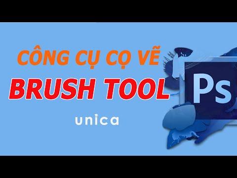 Học Photoshop - Tìm Hiểu Công Cụ Brush Tool Trong Photoshop Kiến Trúc, Nội Thất, Quy Hoạch