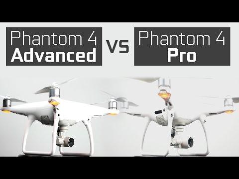Phantom 4 Advanced vs Phantom 4 Pro