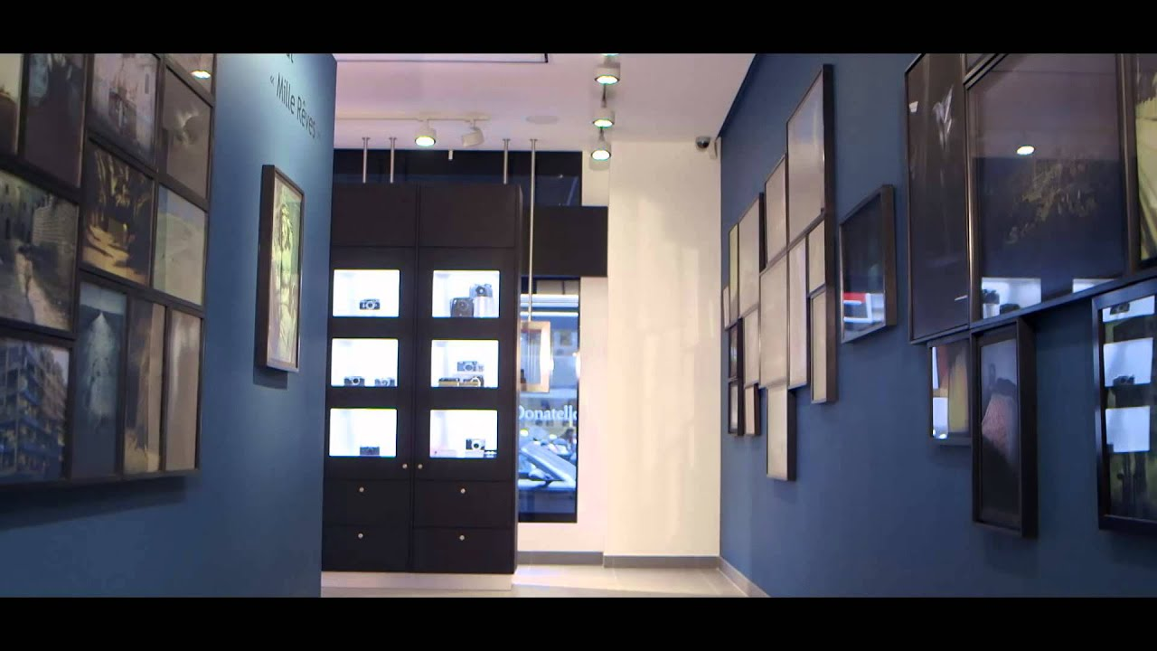 grand opening of leica store paris rue du faubourg saint honor youtube. Black Bedroom Furniture Sets. Home Design Ideas