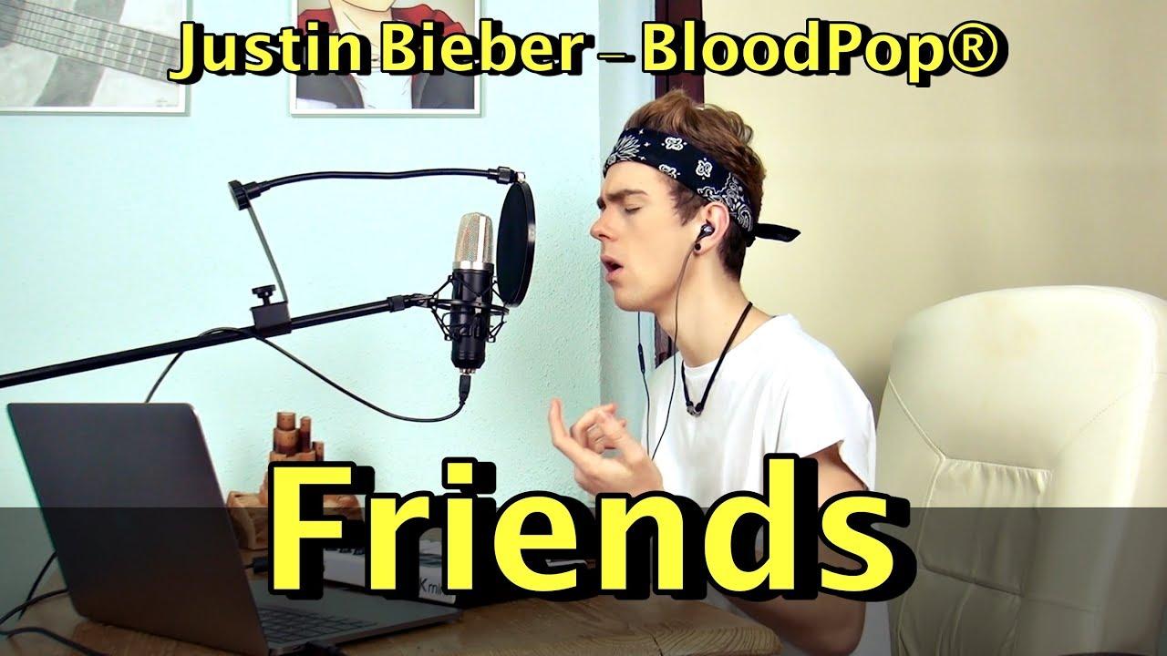Friends Justin Bieber Bloodpop Martin Gessler Cover