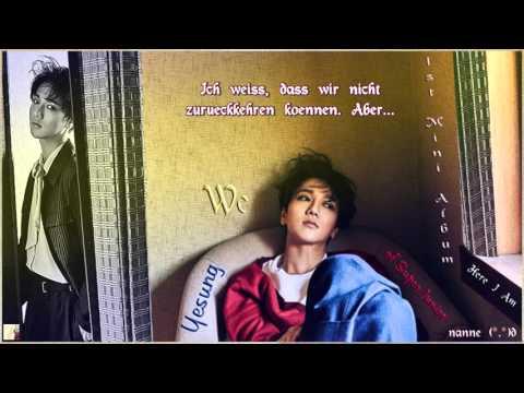 Yesung (예성) of Super Junior – We (우리) k-pop [german Sub] 1st Mini Album Here I Am