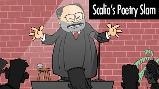 Scalia's Poetry Slam