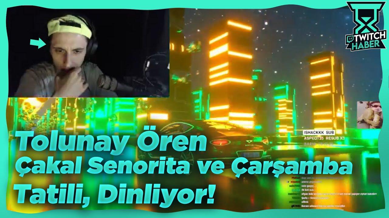 """TolunayOren - """"Cakal Senorıta Sınyale ve Çarşamba Tatili"""" Dinliyor!"""