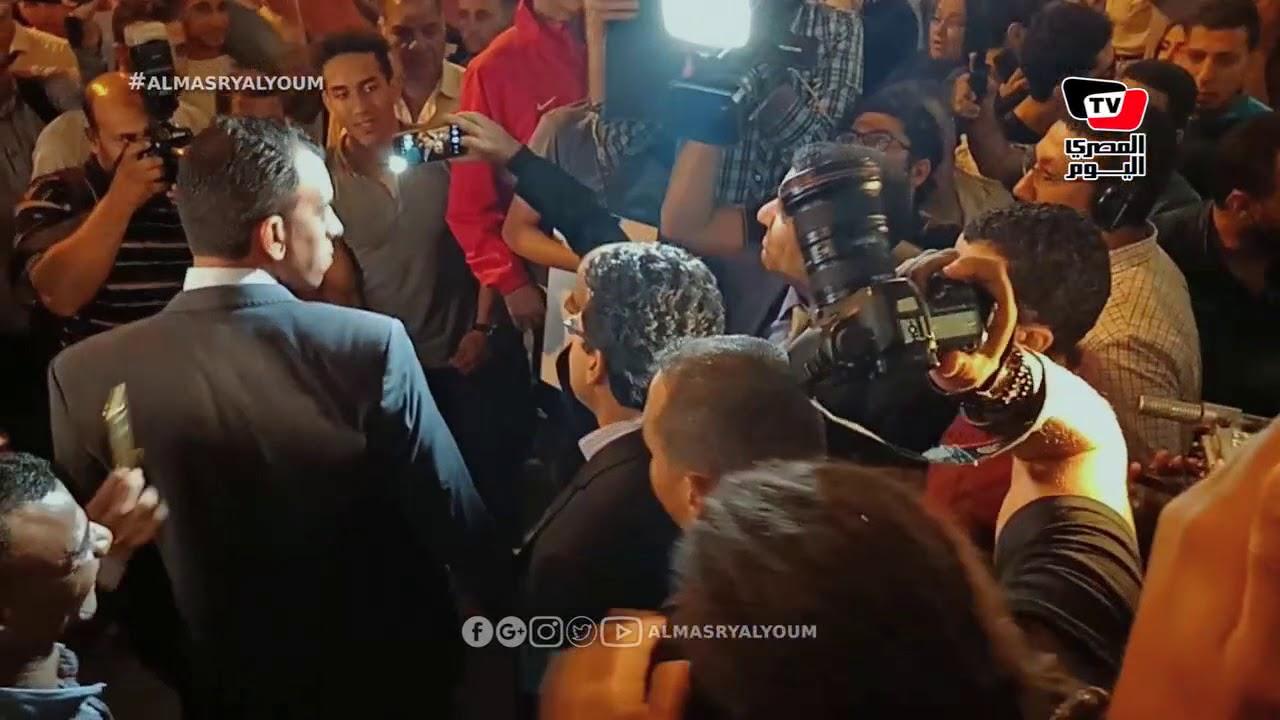 المصري اليوم:وزير الرياضة يستقبل بعثة أوليمبياد الأرجنيتن في المطار وسط هتافات: «أبطال مصر»