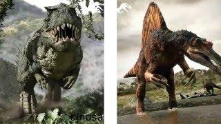 Tyrannosaurus vs Spinosaurus - Which one will win?